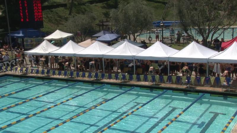Women's 50 Freestyle Heat 05 - 2012 Mission Viejo Swim Meet of Champions