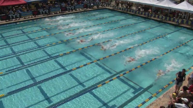 Men's 50 Freestyle Heat 02 - 2012 Mission Viejo Swim Meet of Champions