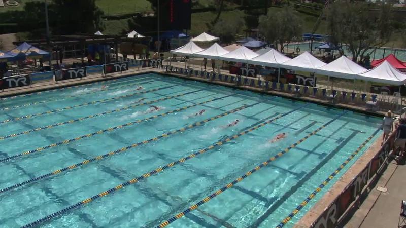 Women's 400 Freestyle Heat 08 - 2012 Mission Viejo Swim Meet of Champions