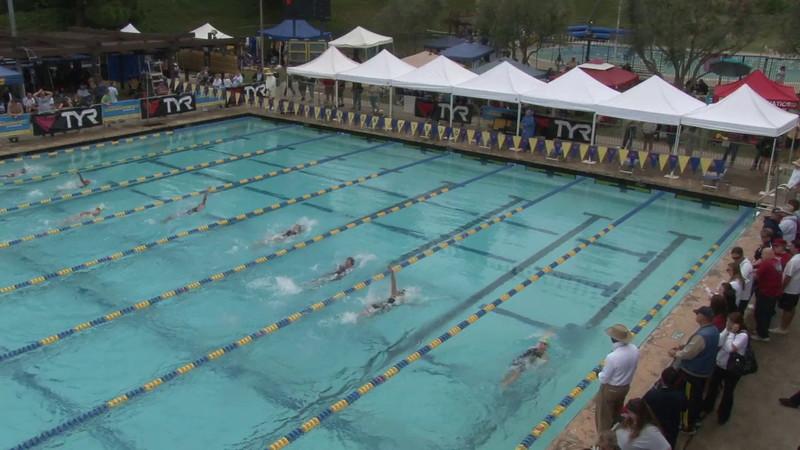 Women's 100 Backstroke Heat 13 - 2012 Mission Viejo Swim Meet of Champions