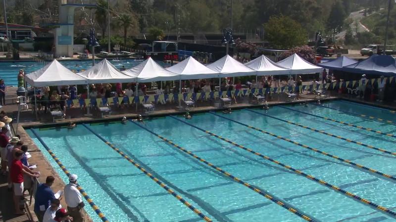 Women's 200 Breaststroke Heat 09 - 2012 Mission Viejo Swim Meet of Champions
