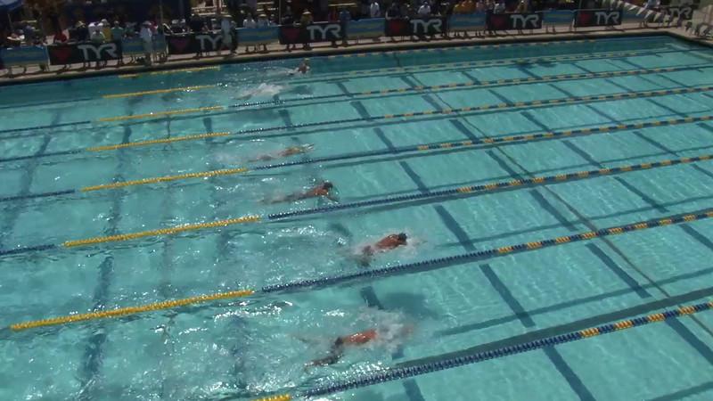 Men's 200 Butterfly Heat 05 - 2012 Mission Viejo Swim Meet of Champions