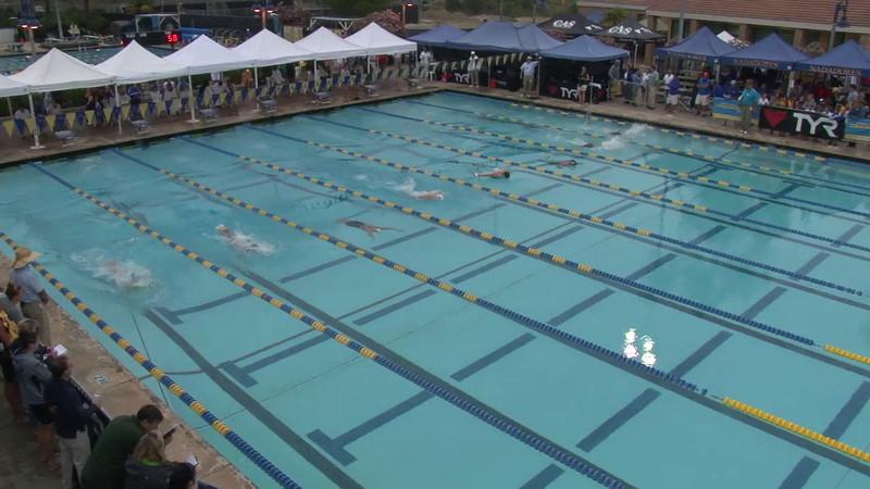 Women's 400 Medley Final A - 2012 Mission Viejo Swim Meet of Champions