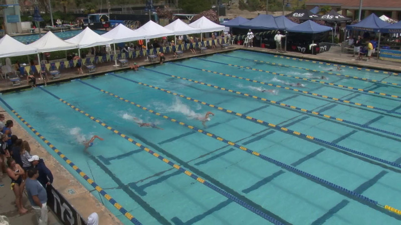 Men's 800 Freestyle Heat 02 - 2012 Mission Viejo Swim Meet of Champions