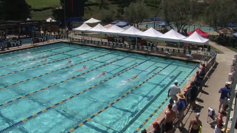 Women's 400 Freestyle Heat 04 - 2012 Mission Viejo Swim Meet of Champions