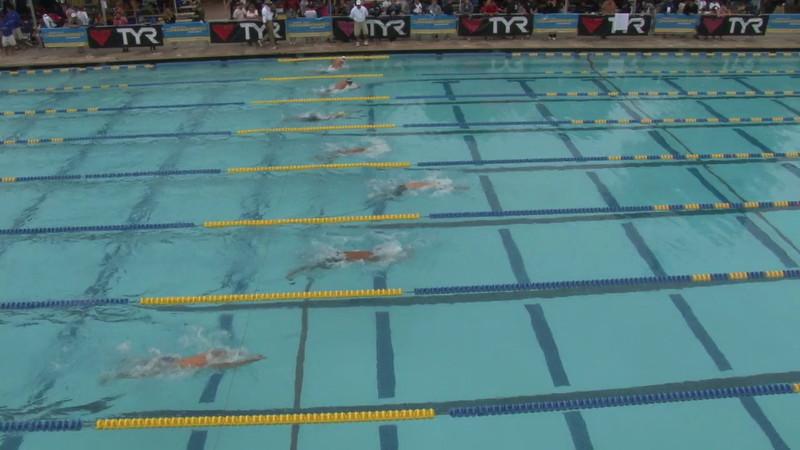 Men's 100 Butterfly Heat 09 - 2012 Mission Viejo Swim Meet of Champions