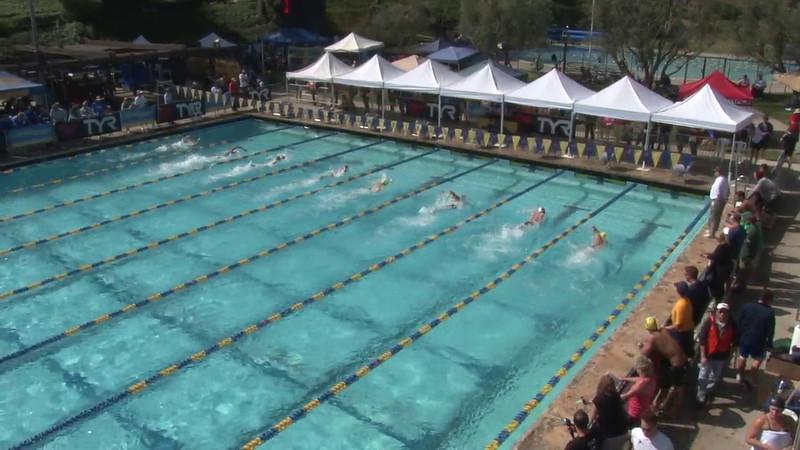 Men's 200 Freestyle Heat 04 - 2012 Mission Viejo Swim Meet of Champions