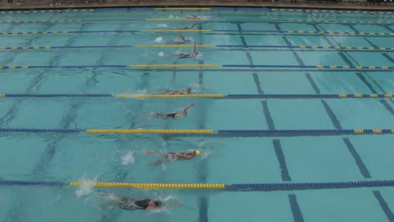 Women's 100 Backstroke Heat 10 - 2012 Mission Viejo Swim Meet of Champions