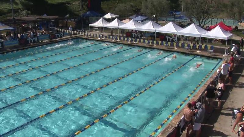 Men's 100 Freestyle Heat 15 - 2012 Mission Viejo Swim Meet of Champions