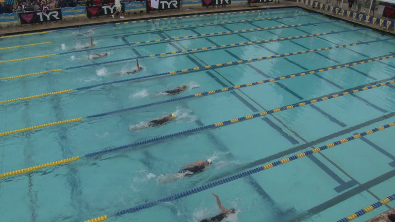 Women's 100 Backstroke Heat 01 - 2012 Mission Viejo Swim Meet of Champions