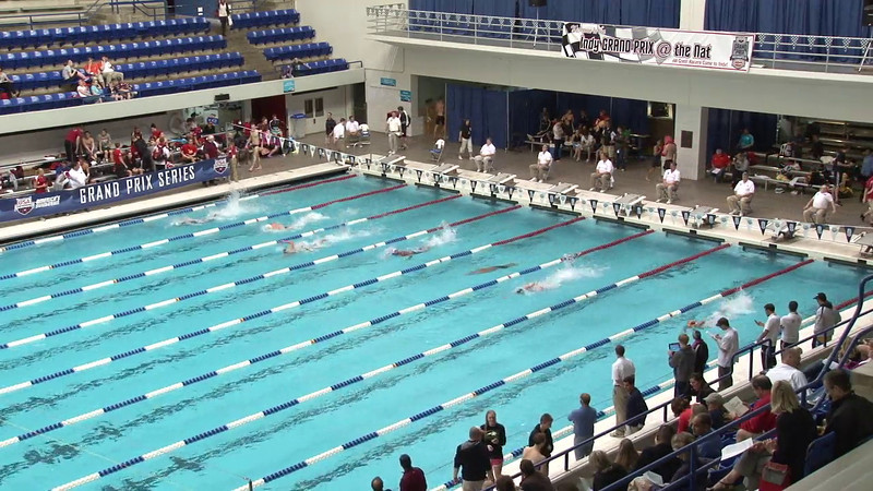 Men's 100yd Freestyle Heat 10 - 2012 Indianapolis Grand Prix
