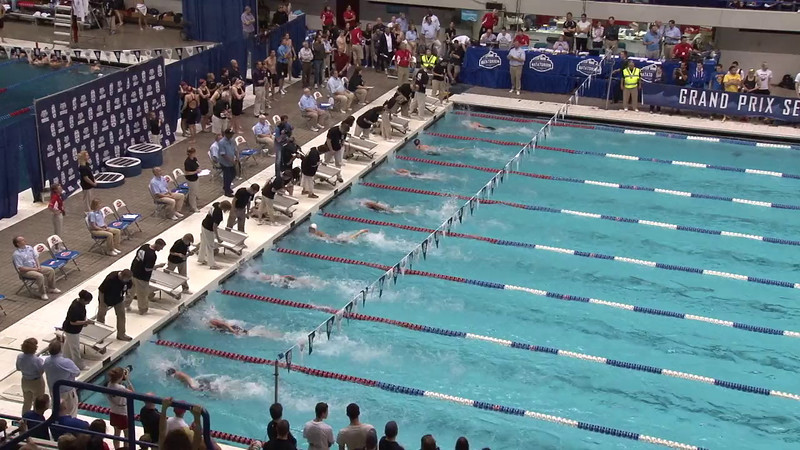 Women's 50 Freestyle Final A - 2012 Indianapolis Grand Prix