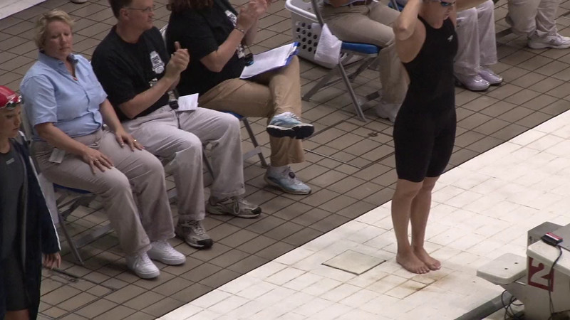Women's 100 Breaststroke Final A - 2012 Indianapolis Grand Prix