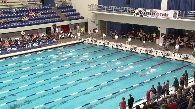 Men's 200 Freestyle Heat 12 - 2012 Indianapolis Grand Prix