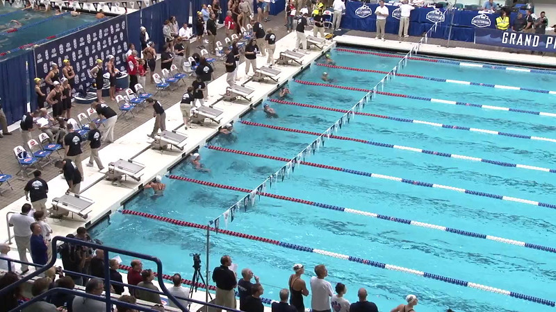 Women's 50 Freestyle Heat 20 - 2012 Indianapolis Grand Prix