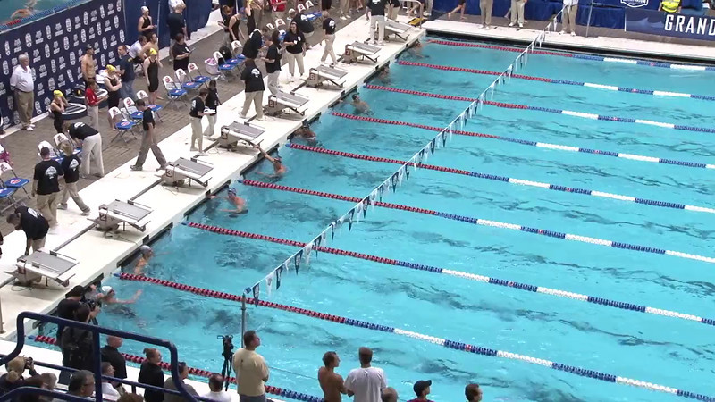 Men's 50 Freestyle Heat 13 - 2012 Indianapolis Grand Prix