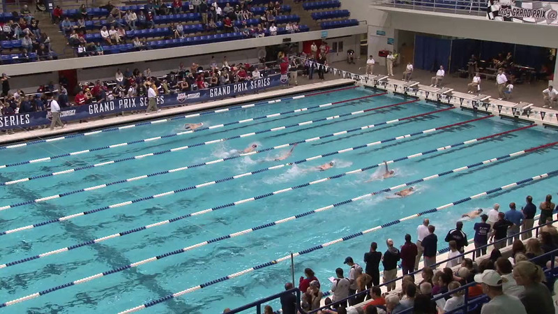 Men's 100 Backstroke Heat 04 - 2012 Indianapolis Grand Prix