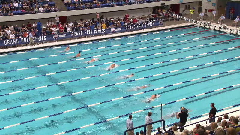 Men's 100 Butterfly Final B - 2012 Indianapolis Grand Prix