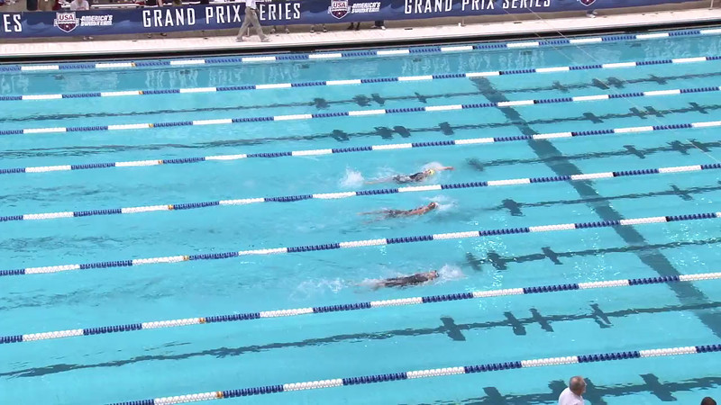 Women's 200 Backstroke Heat 01 - 2012 Indianapolis Grand Prix