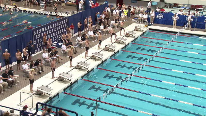Men's 100 Breaststroke Heat 09 - 2012 Indianapolis Grand Prix