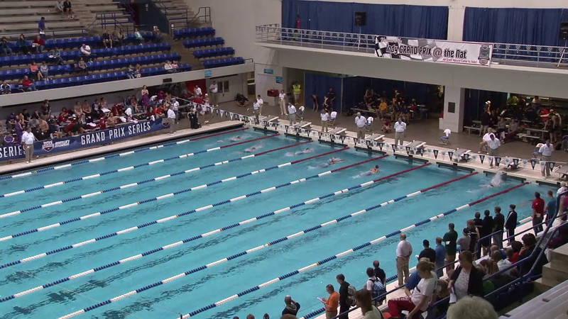 Women's 200 Breaststroke Heat 05 - 2012 Indianapolis Grand Prix