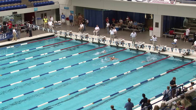 Women's 100 Breaststroke Heat 01 - 2012 Indianapolis Grand Prix