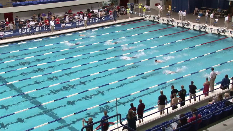 Men's 100 Breaststroke Heat 06 - 2012 Indianapolis Grand Prix