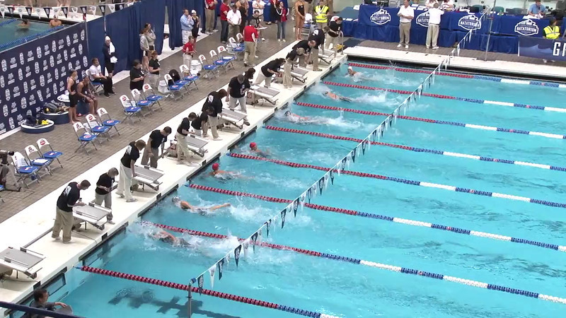 Women's 50 Freestyle Heat 17 - 2012 Indianapolis Grand Prix