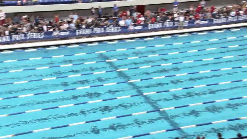 Women's 50 Freestyle Heat 19 - 2012 Indianapolis Grand Prix