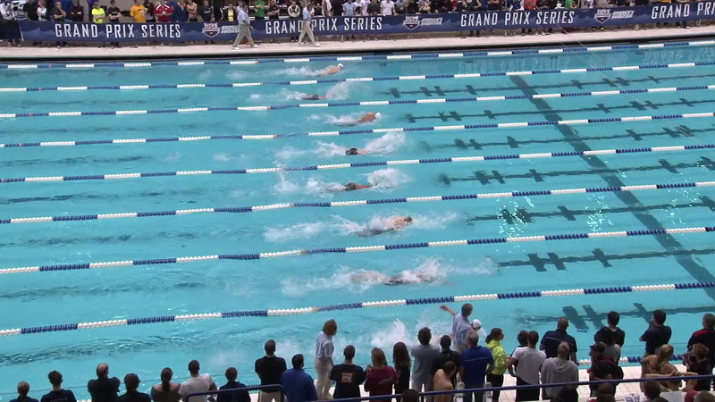 Men's 100 Breaststroke Final B - 2012 Indianapolis Grand Prix