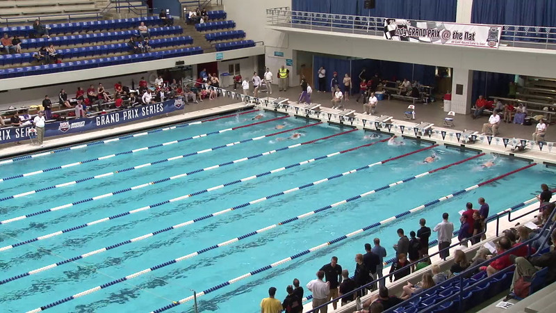Men's 400 Freestyle Heat 05 - 2012 Indianapolis Grand Prix