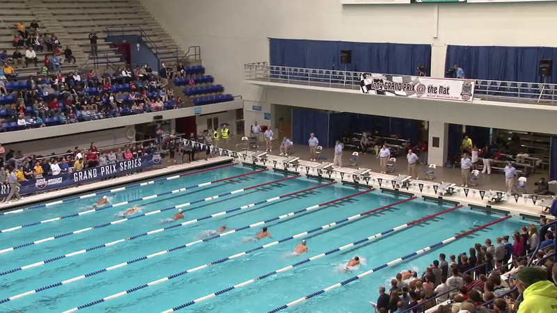 Men's 100 Butterfly Final A - 2012 Indianapolis Grand Prix