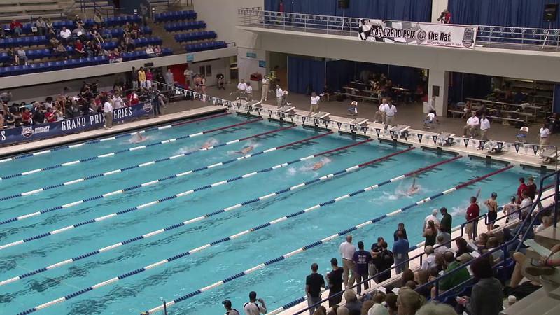 Men's 100 Backstroke Heat 08 - 2012 Indianapolis Grand Prix