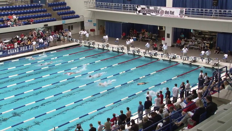 Men's 100 Breaststroke Heat 12 - 2012 Indianapolis Grand Prix