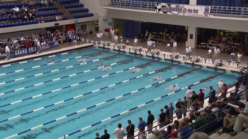 Women's 100 Butterfly Heat 07 - 2012 Indianapolis Grand Prix