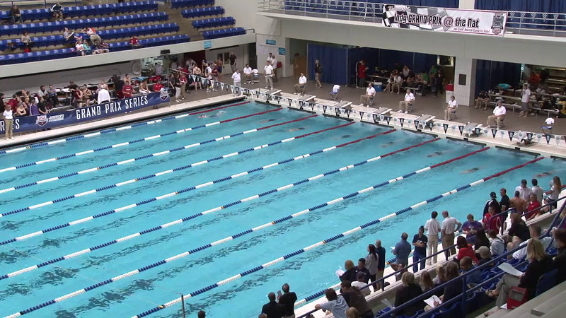 Women's 100yd Freestyle Heat 10 - 2012 Indianapolis Grand Prix