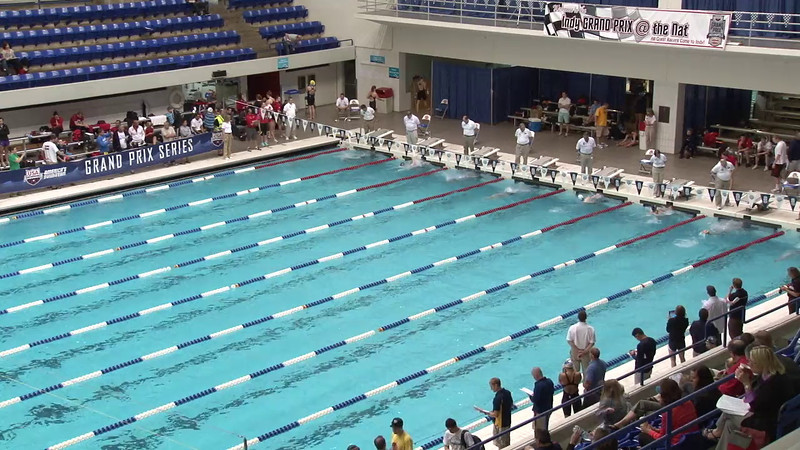 Women's 100 Breaststroke Heat 09 - 2012 Indianapolis Grand Prix