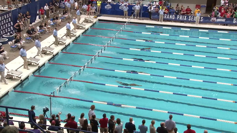 Women's 200 Butterfly Final B - 2012 Indianapolis Grand Prix