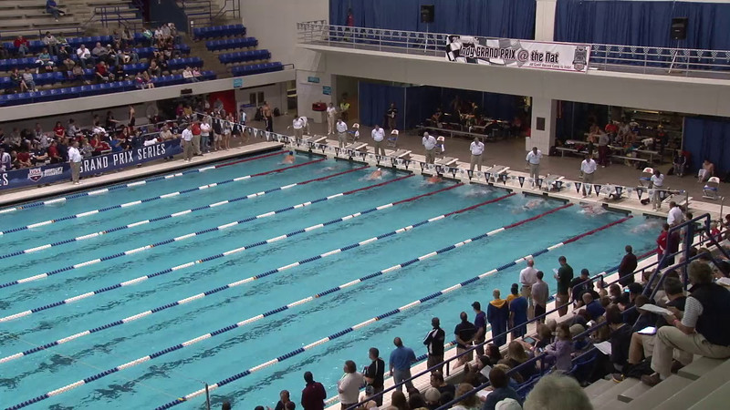 Men's 100 Butterfly Heat 08 - 2012 Indianapolis Grand Prix
