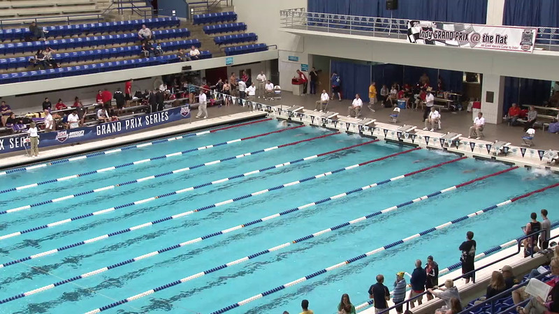 Women's 400 Freestyle Heat 07 - 2012 Indianapolis Grand Prix