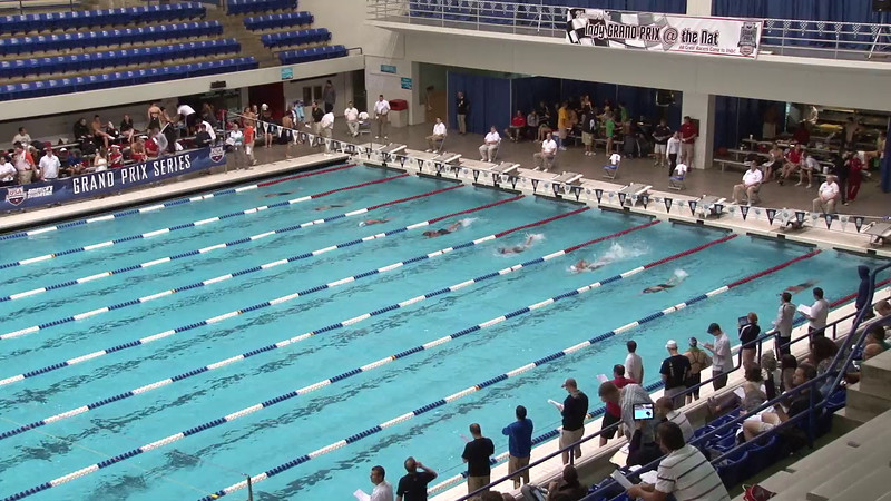 Women's 100yd Freestyle Heat 19 - 2012 Indianapolis Grand Prix