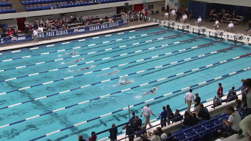 Women's 100 Backstroke Heat 01 - 2012 Indianapolis Grand Prix