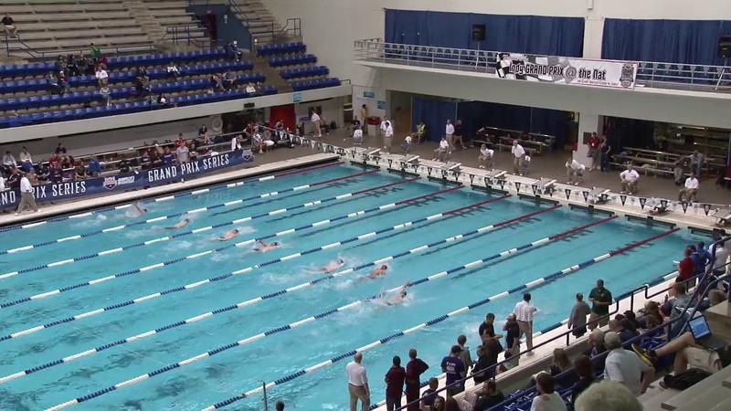 Men's 100 Backstroke Heat 03 - 2012 Indianapolis Grand Prix