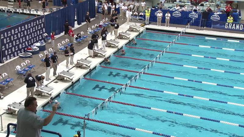 Women's 50 Freestyle Heat 05 - 2012 Indianapolis Grand Prix