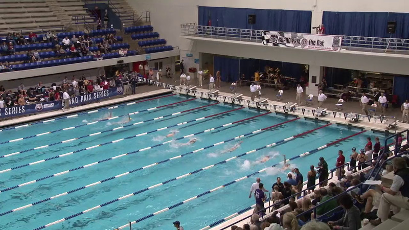 Men's 100 Backstroke Heat 06 - 2012 Indianapolis Grand Prix