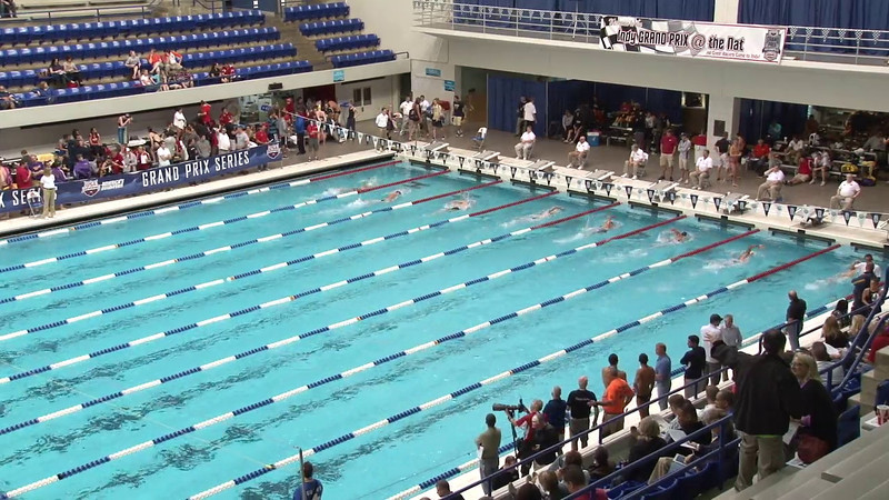 Men's 400 Freestyle Heat 10 - 2012 Indianapolis Grand Prix