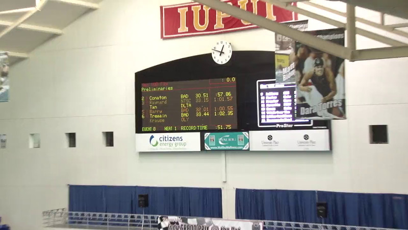 Men's 100 Breaststroke Heat 01 - 2012 Indianapolis Grand Prix