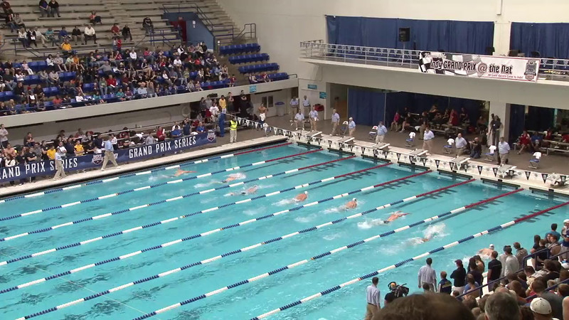 Men's 200 Breaststroke Final A - 2012 Indianapolis Grand Prix