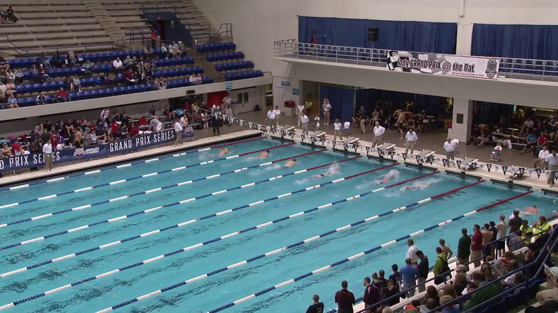 Men's 200 Breaststroke Heat 05 - 2012 Indianapolis Grand Prix