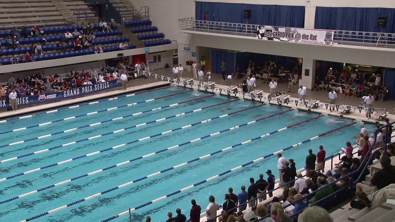 Men's 200 Breaststroke Heat 07 - 2012 Indianapolis Grand Prix